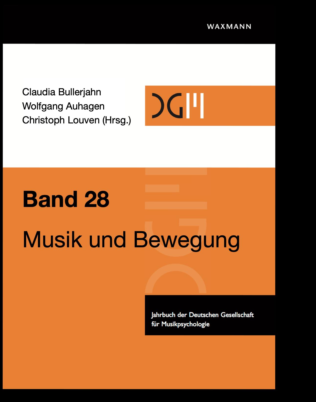 Cover von Band 28 des Jahrbuchs DGM