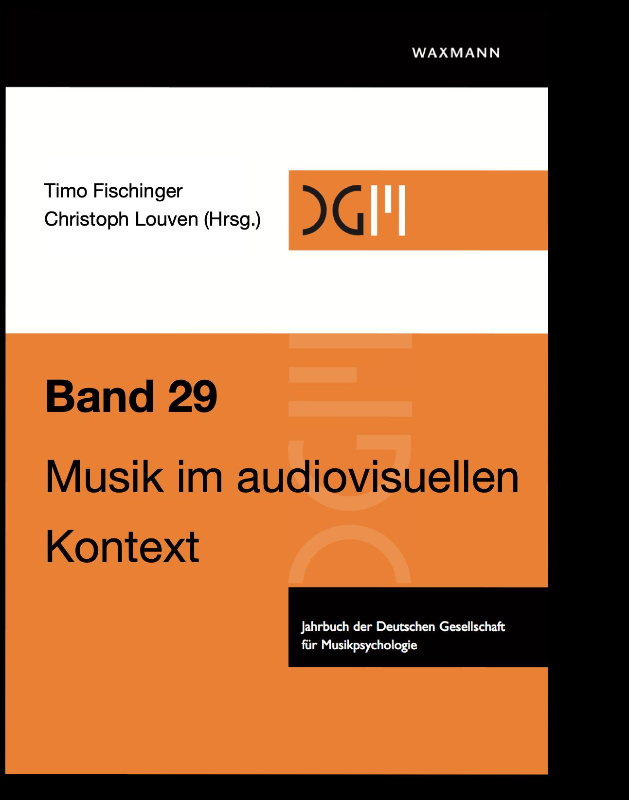 Cover von Band 29 des Jahrbuchs Musikpsychologie